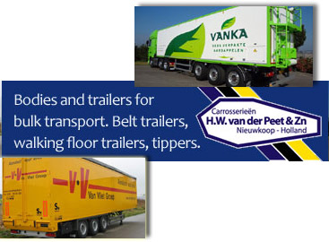 Van der Peet bult transport equipment
